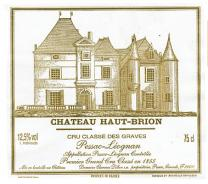 Haut Brion label