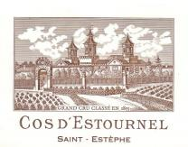 Cos d'Estournel label